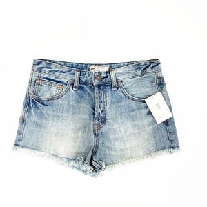 Free People Rock Denim Uptown Short in Camp | 26